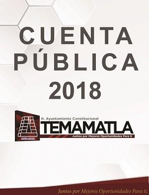 CUENTA PÚBLICA 2018 AYUNTAMIENTO