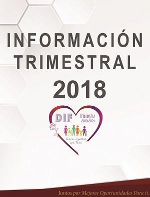 INFORMACIÓN TRIMESTRAL
