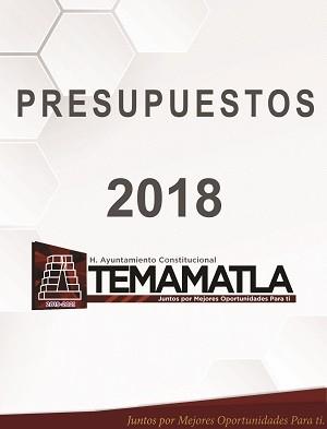 PRESUPUESTOS 2018 AYUNTAMIENTO