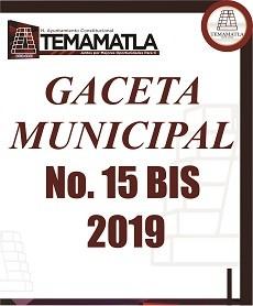 GACETA 15 BIS