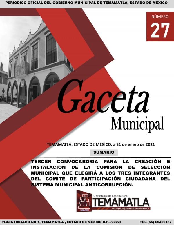 GACETA 27